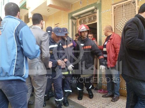 حريق يودي بحياة شقيقين اختناقا داخل منزلهما في طنجة