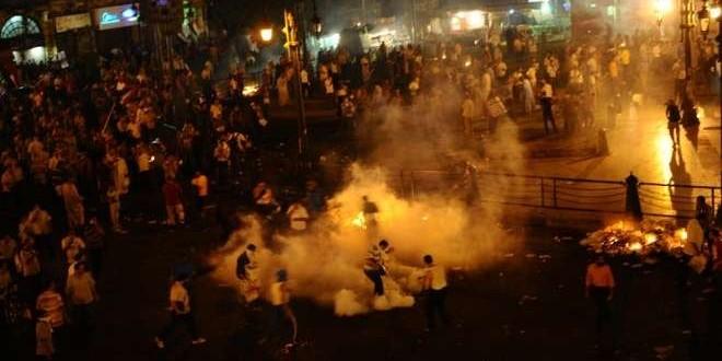 سبعة قتلى و261 جريح في اشتباكات بين الشرطة وأنصار مرسي