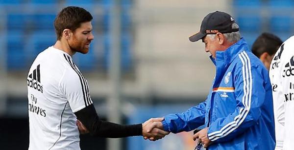 تشابي ألونسو يعود للمران الجماعي مع ريال مدريد