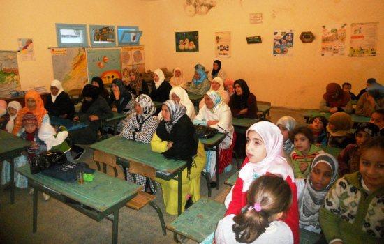 فاعلون تربويون بدار الشاوي يناقشون واقع التعليم في العالم القروي
