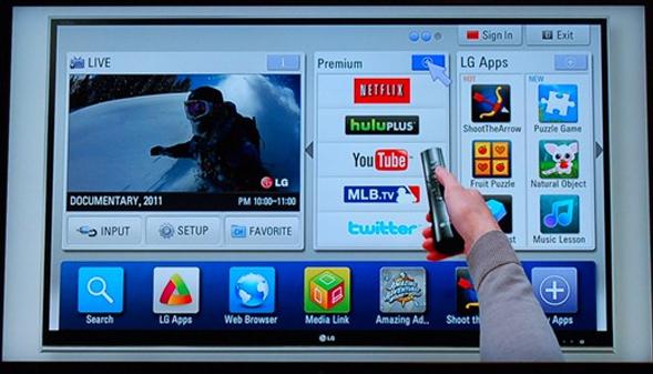 """شركة """"إل جي"""" تعترف بجمع معلومات عن مستخدمي تلفزيوناتها الذكية بسبب خلل تقني"""