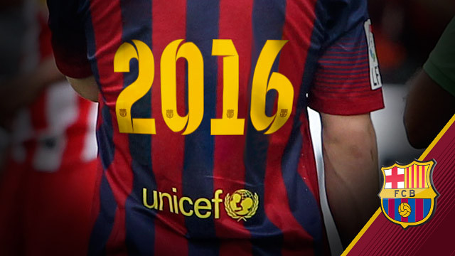برشلونة يدفع أزيد من مليون أورو من أجل تمديد عقد الرعاية مع اليونيسيف حتى عام 2016