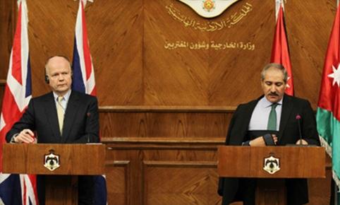 الأردن وبريطانيا يجريان مباحثات حول الوضع الأمني في فلسطين وسوريا