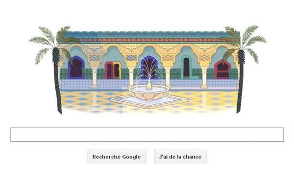 """محرك """"غوغل"""" يحتفل مع المغاربة بعيد الاستقلال"""