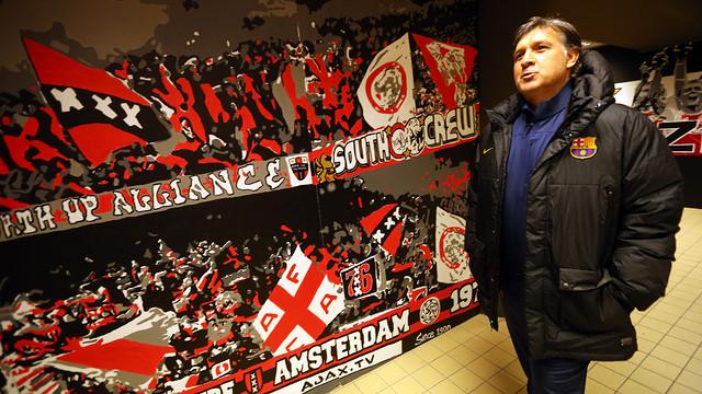 مارتينو : أتطلع لقيادة برشلونة للفوز بمثل سداسية 2009