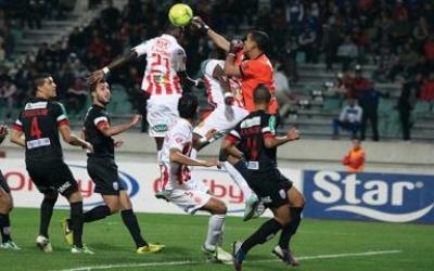 فريق المغرب التطواني يرغم مضيفه الوداد البيضاوي على التعادل بنتيجة 2ـ2