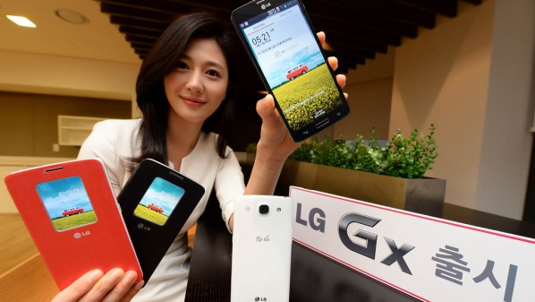 """شركة """"إل جي"""" الكورية تكشف عن هاتفها اللوحي """"جي إكس"""""""