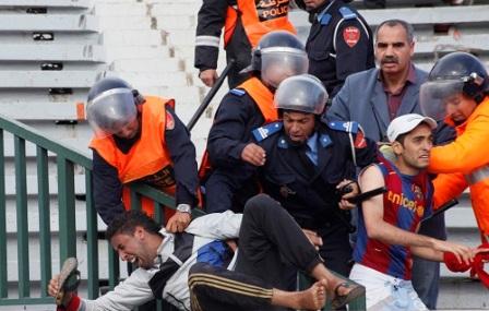 إدارة المغرب التطواني تستنجد بالأمن لمواجهة شغب جماهير النادي القنيطري