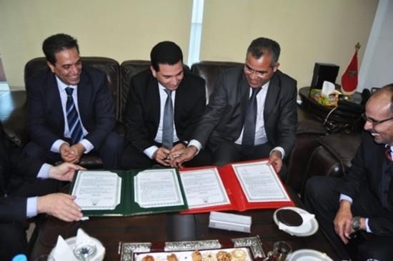 توقيع إتفاقية شراكة بين غرفة الصناعة التقليدية بالناظور ونظيرتها بالدار البيضاء