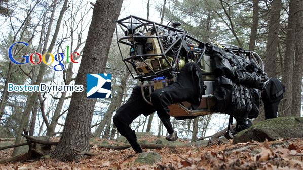"""مؤسسة """"جوجل"""" تستحوذ على شركة متخصصة في صناعة الروبوتات"""