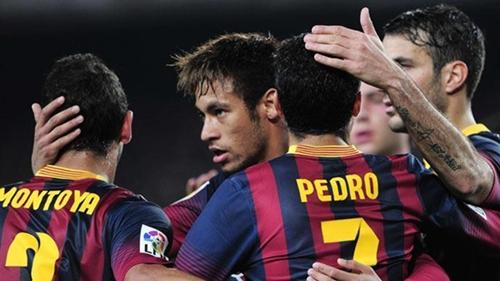 برشلونة يؤكد تأهله بثلاثية وأوساسونا يقصي ملقة