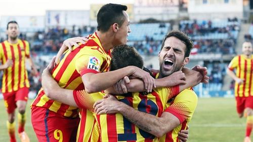 بيدرو ينقذ برشلونة من مفاجأت خيتافي ويؤمن صدارة الليغا