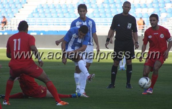 فريق إتحاد طنجة يحصد نقطة ثمينة بعد تعادله إيجابيا في مباراته مع شباب هوارة
