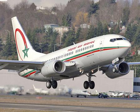 حركة النقل الجوي بالمطارات المغربية تسجل إرتفاعا بنسبة تفوق 6 في المائة