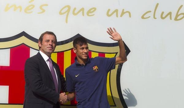 اتهام روسيل بالحصول على عمولة 40 مليون يورو نظير انتقال نيمار لبرشلونة
