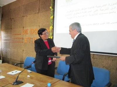 اللجنة الجهوية لحقوق الإنسان تحط الرحال بالنوادي التربوية لنيابتي العرائش ووزان