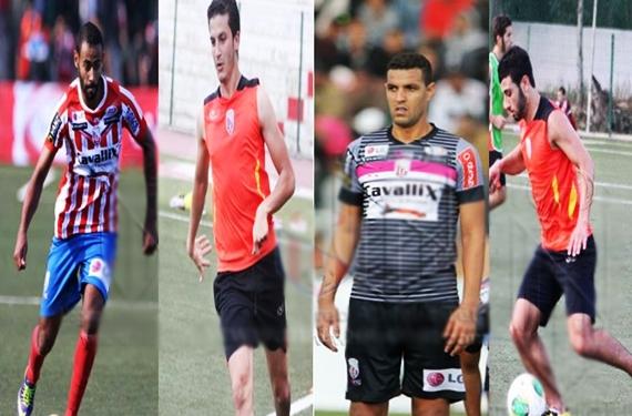 فريق المغرب التطواني يضع أربعة لاعبين ضمن لائحة الإنتقالات الشتوية
