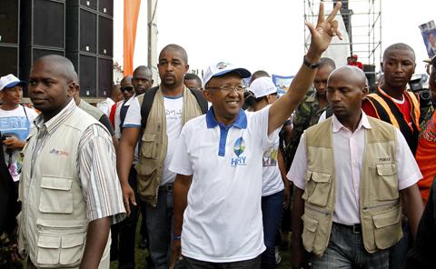 المحكمة الإنتخابية تعلن هيري راجاوناريمامبيانينا رئيسا لمدغشقر