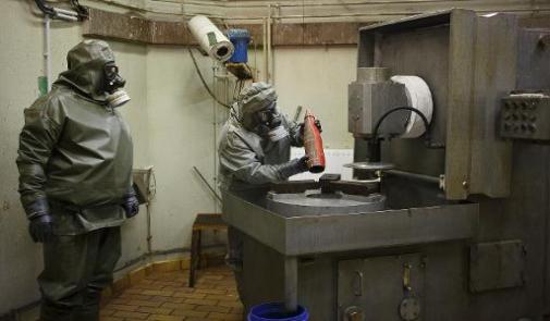 المانيا تعلن عن تدميرها لبقايا من الاسلحة الكيميائية السورية على اراضيها