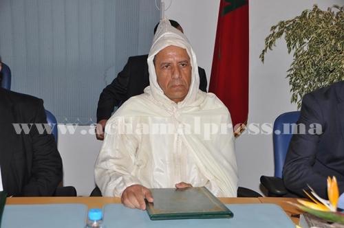 الحسين الوردي ينصب عبد الكريم حمدي عاملا على عمالة المضيق الفنيدق