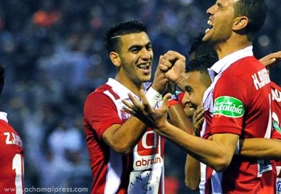 المغرب التطواني يقترب من إعارة لاعبه نصير الميموني الى فريق أهلي طرابلس الليبي