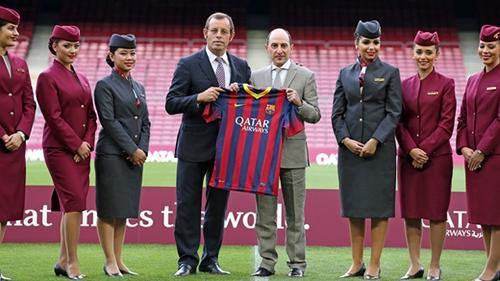 """شركة طيران قطرية تقدم 350 مليون لبرشلونة من أجل تغيير اسم """"كامب نو"""""""