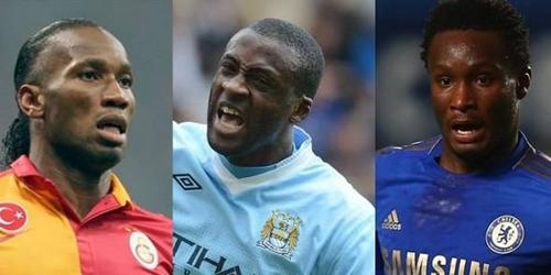 جائزة افضل لاعب افريقي تقتصر على الثلاثي يايا توريه ودروغبا وميكل