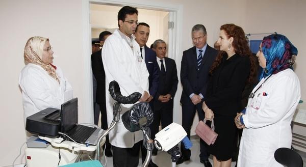 الأميرة للا سلمى تدشن بطنجة المركز المرجعي للكشف عن سرطان الثدي وعنق الرحم