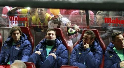 ميسي على مقاعد البدلاء أمام خيتافي في كأس أسبانيا