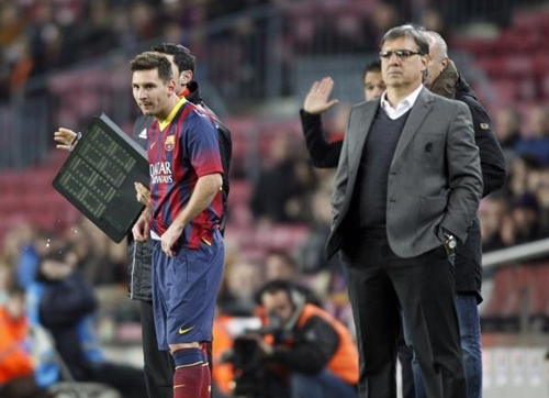 ميسي خارج التشكيلة الأساسية لبرشلونة أمام ليفانتي