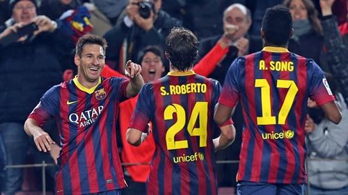 برشلونة يتغلب على خيتافي وميسي يعود من الباب الكبير