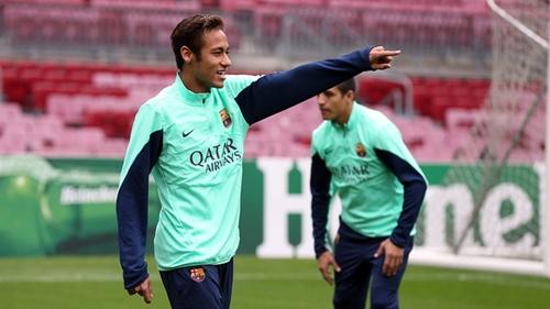 نيمار يعود للتدريبات ويستعد لمواجهة أتلتيكو مدريد
