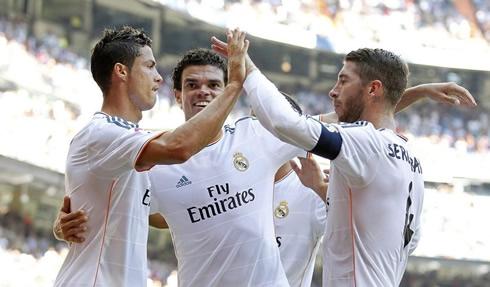 دفاع ريال مدريد هو الأقوى في الليغا في 2014