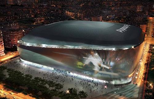 """ريال يقدم التصميم الجديد لمعقله """"سانتياغو برنابيو"""""""