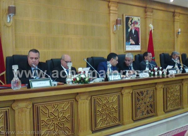 مجلس جهة طنجة ـ تطوان يصادق بالإجماع على جدول أعمال دورته العادية
