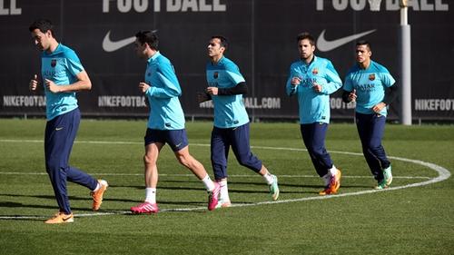 10 لاعبين في برشلونة يجتازون اختبار اليويفا للكشف عن المنشطات