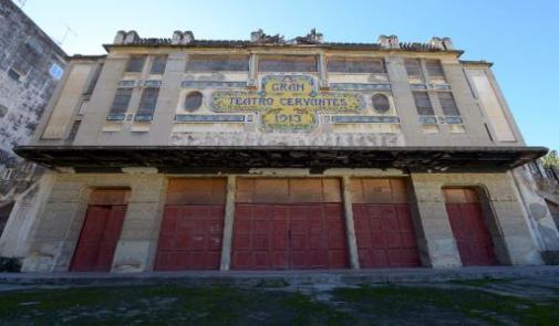 """مسرح """"سرفانتس"""" في طنجة.. معملة مهددة بالاندثار ترفض اسبانيا ترميمها"""