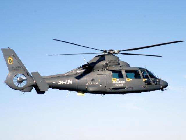 مروحية تنقل مواطنا اسبانيا أصيب برصاص البحرية الملكية من تطوان الى فاس