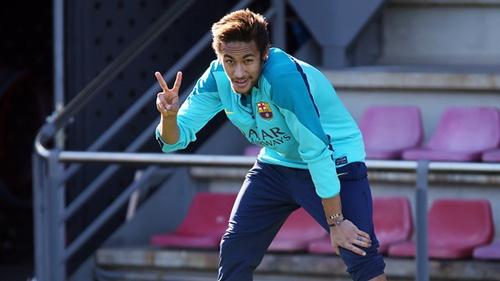 نيمار في تشكيلة برشلونة لمباراة سوسيداد في كأس الملك