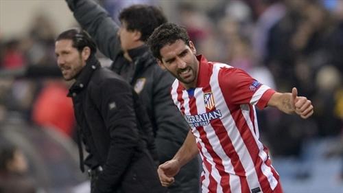 أتلتيكو مدريد يمدد تعاقده مع راؤول جارسيا حتى 2018