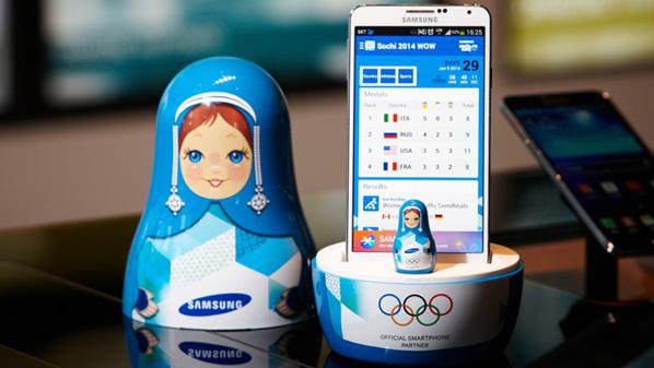 سامسونج تحذر المشاركين في الأولمبياد الشتوي من استخدام أجهزة آبل