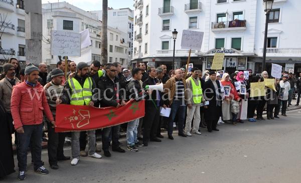 احتجاجات ضد إطلاق سراح متهم تسبب في مقتل شخصين في حادثة سير بتطوان