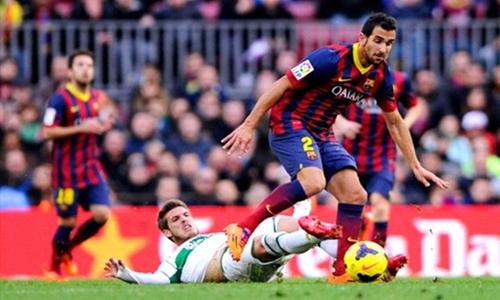 برشلونة يمدد عقد مونتويا حتى 2018