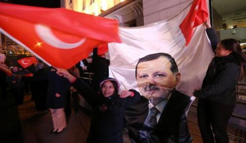 أردوغان يعلن فوزه في الانتخابات البلدية ويتوعد خصومه