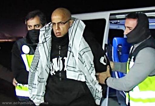 الشرطة الإسبانية ترحل مغربيا متورطا في أحداث مدريد الإرهابية إلى مدينة طنجة