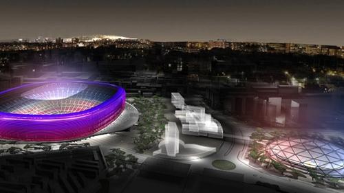 برشلونة يفتتح معرضا للترويج لتجديد ملعب كامب نو
