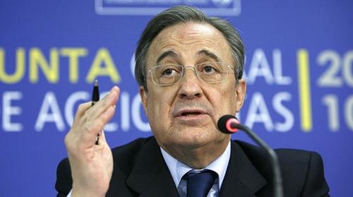 رئيس ريال مدريد يشكك في رحيل فالديس عن برشلونة