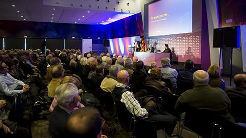 اتفاق بين نادي برشلونة وغرفة التجارة بالإقليم للترويج للشركات الكتالونية في الخارج