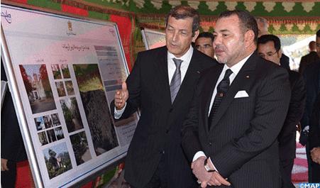 جلالة الملك يعطي بطنجة انطلاقة مشاريع لإعادة تأهيل الموروث التاريخي والثقافي