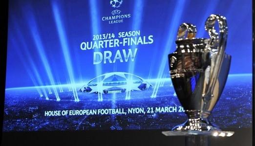 قرعة دوري أبطال أوروبا: مدريد يصطدم بدورتموند وبرشلونة يواجه اتلتيك مدريد